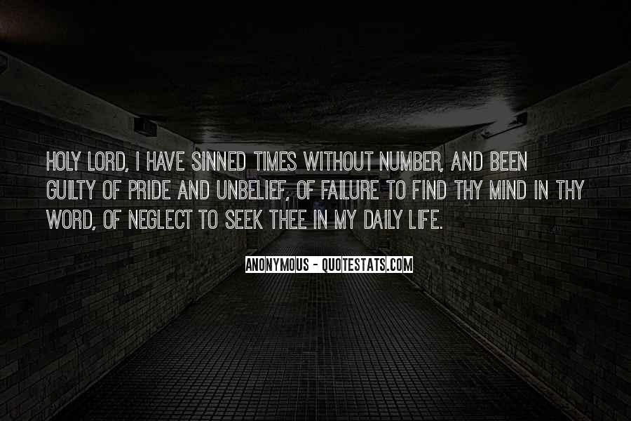 Quotes About Sinned #166668