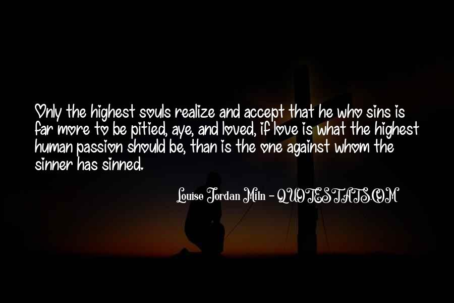 Quotes About Sinned #204360