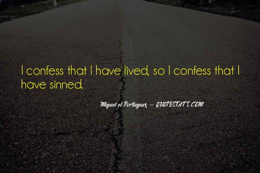 Quotes About Sinned #20677