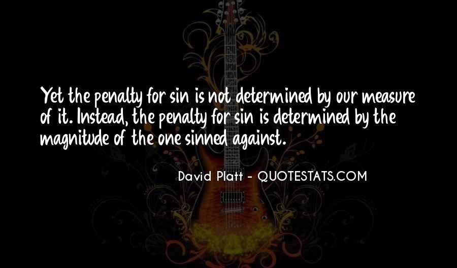 Quotes About Sinned #46198