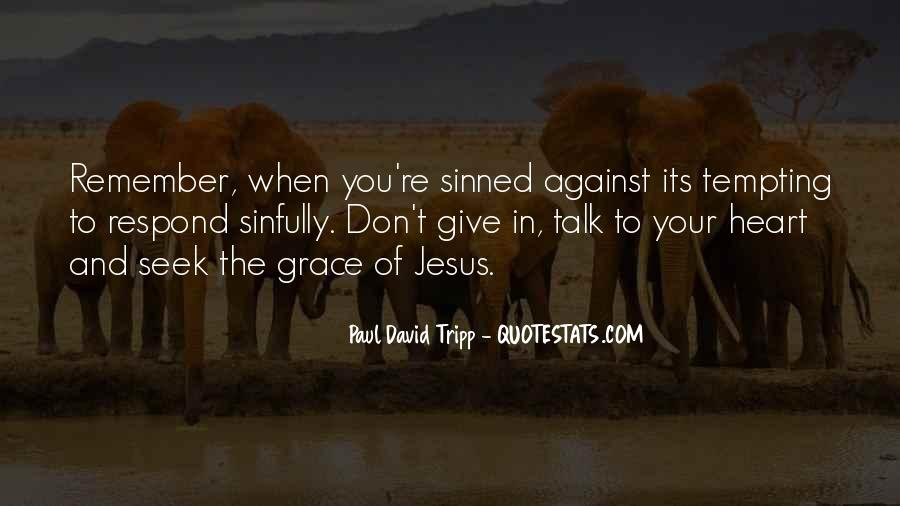 Quotes About Sinned #531550