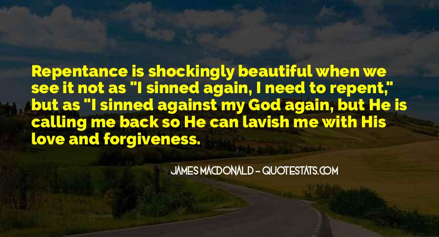Quotes About Sinned #636073
