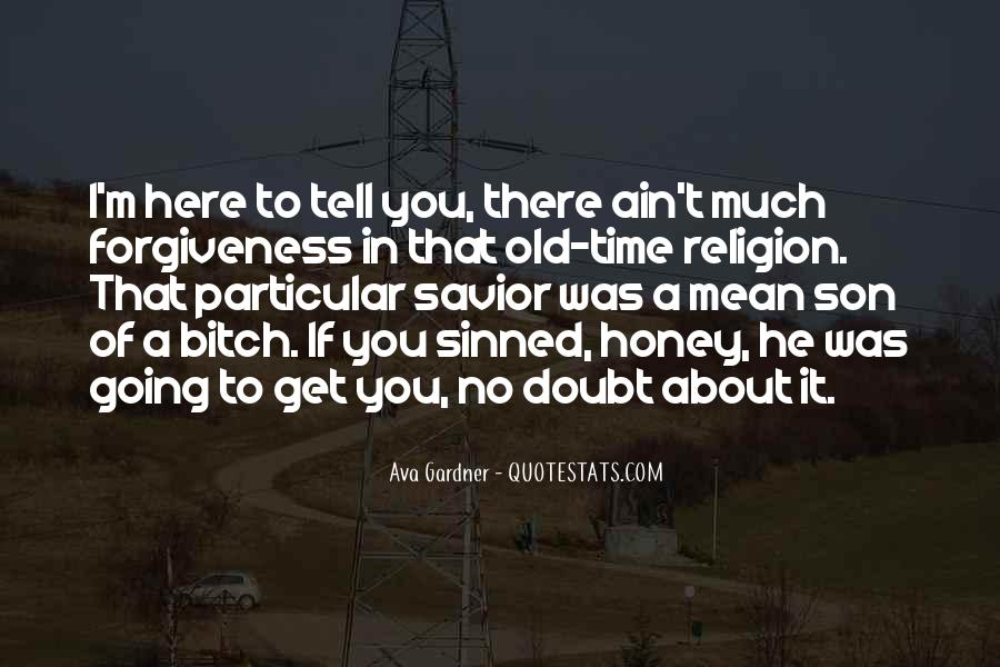 Quotes About Sinned #690456