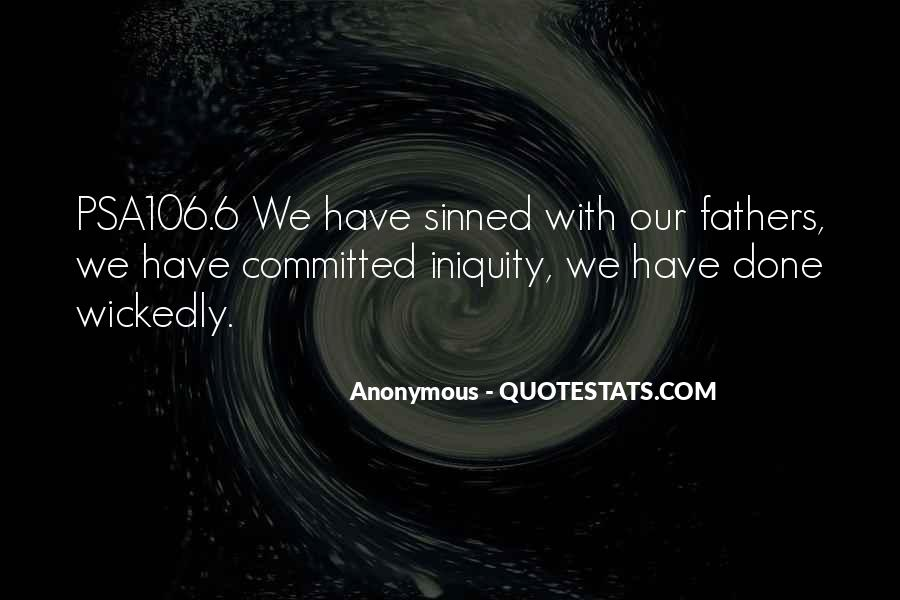 Quotes About Sinned #819890