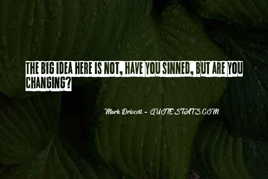 Quotes About Sinned #985662