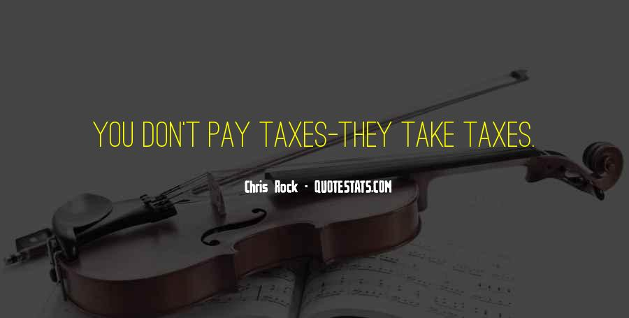 Quotes About Taxes #23563