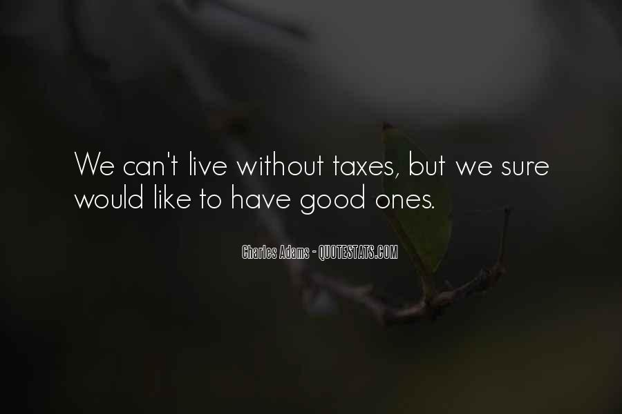 Quotes About Taxes #84806