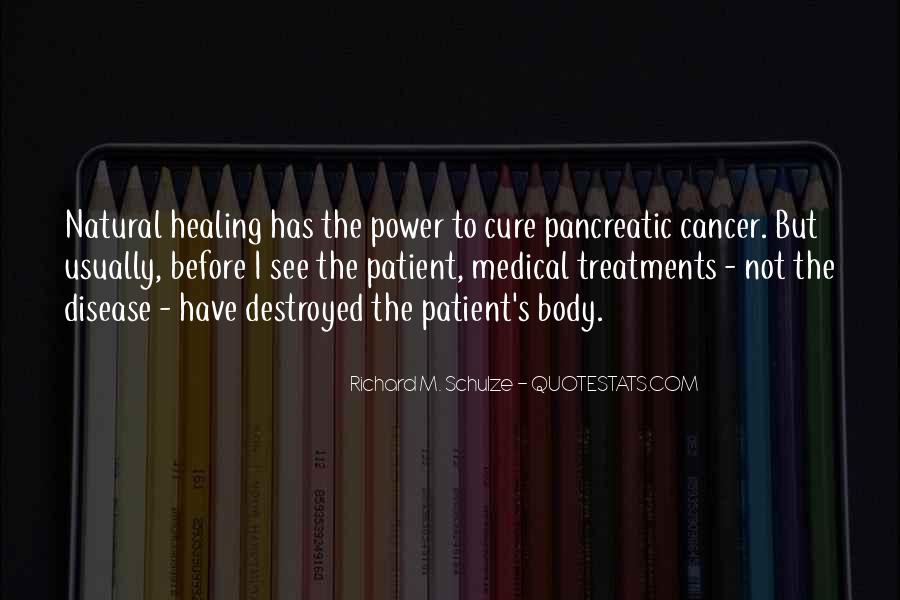 Quotes About Pancreatic Cancer #1567101