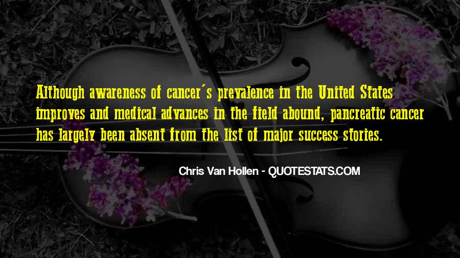 Quotes About Pancreatic Cancer #609936