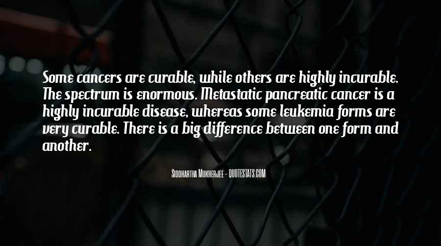 Quotes About Pancreatic Cancer #624507