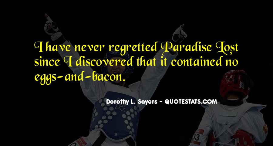 Quotes About Paradise Lost #101751