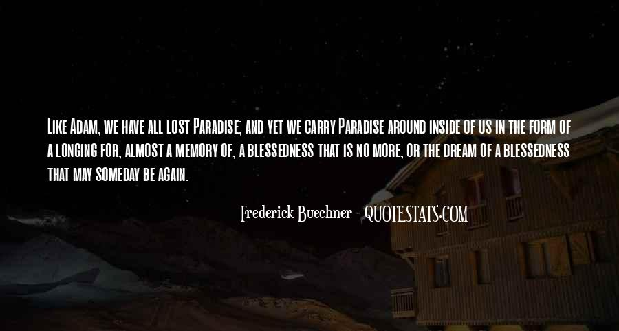 Quotes About Paradise Lost #1164730
