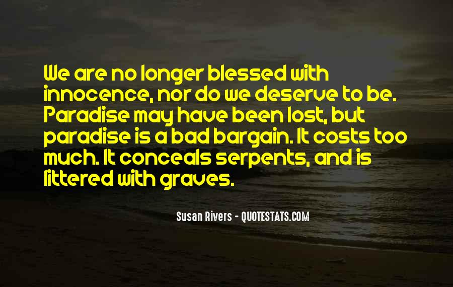 Quotes About Paradise Lost #275839