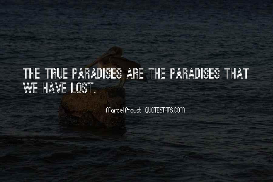 Quotes About Paradise Lost #390426