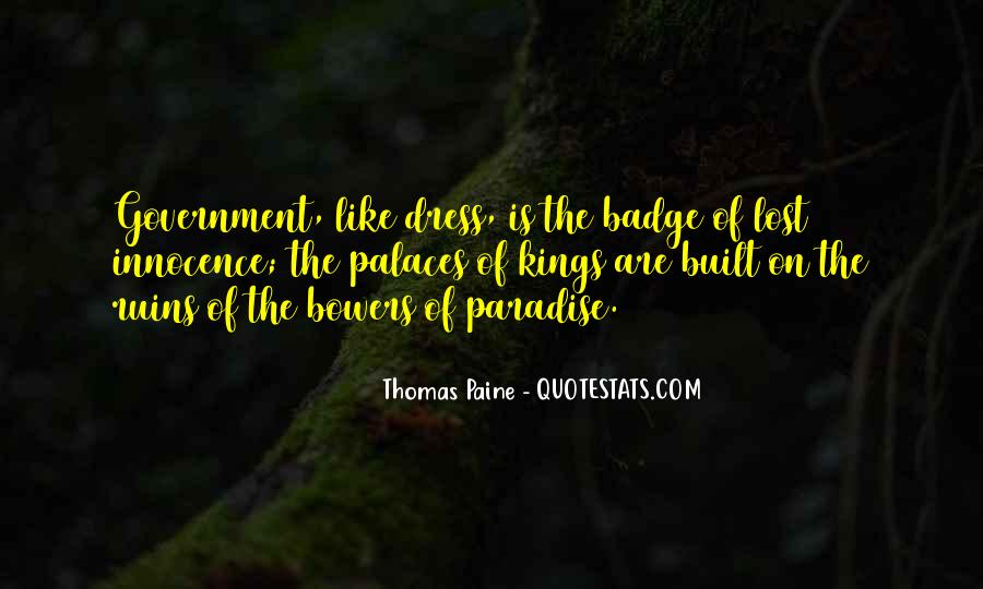 Quotes About Paradise Lost #419105