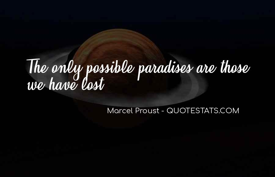 Quotes About Paradise Lost #534998
