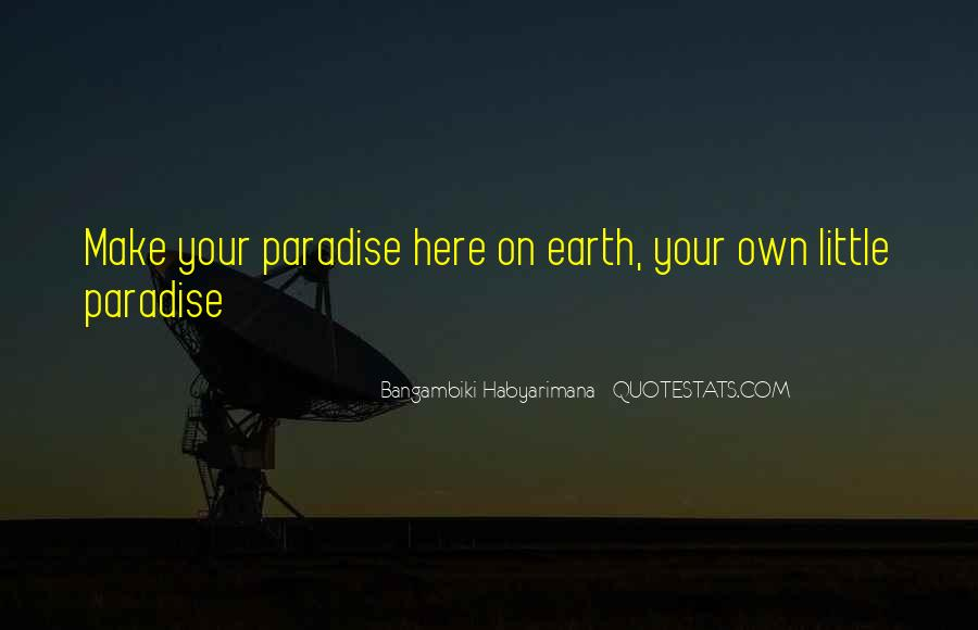 Quotes About Paradise Lost #632595