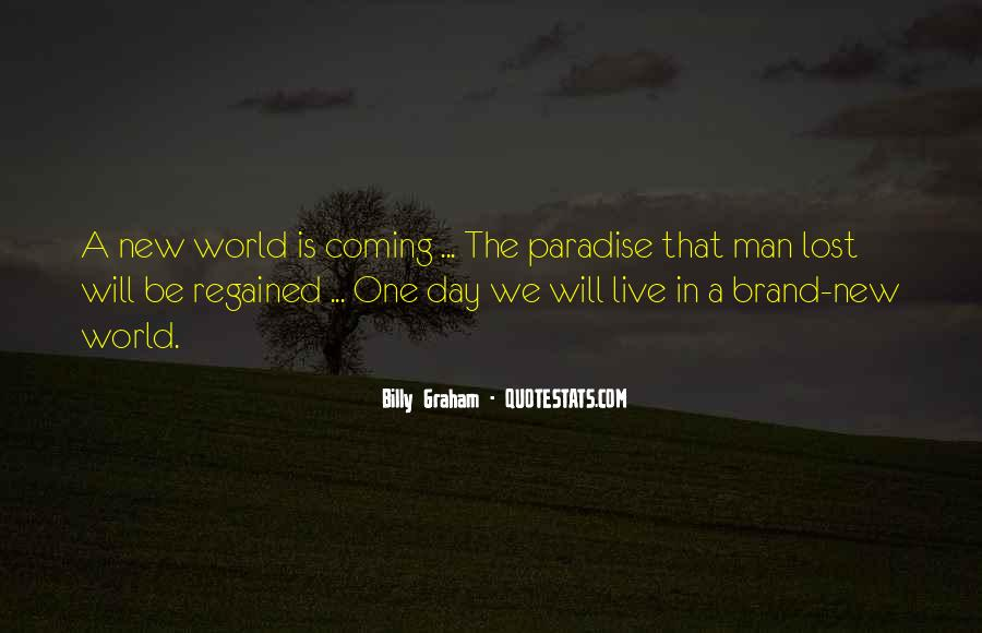 Quotes About Paradise Lost #963493