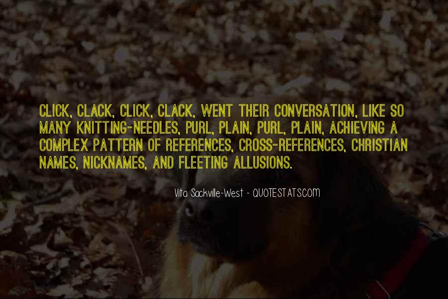 Quotes About Allusions #1233512