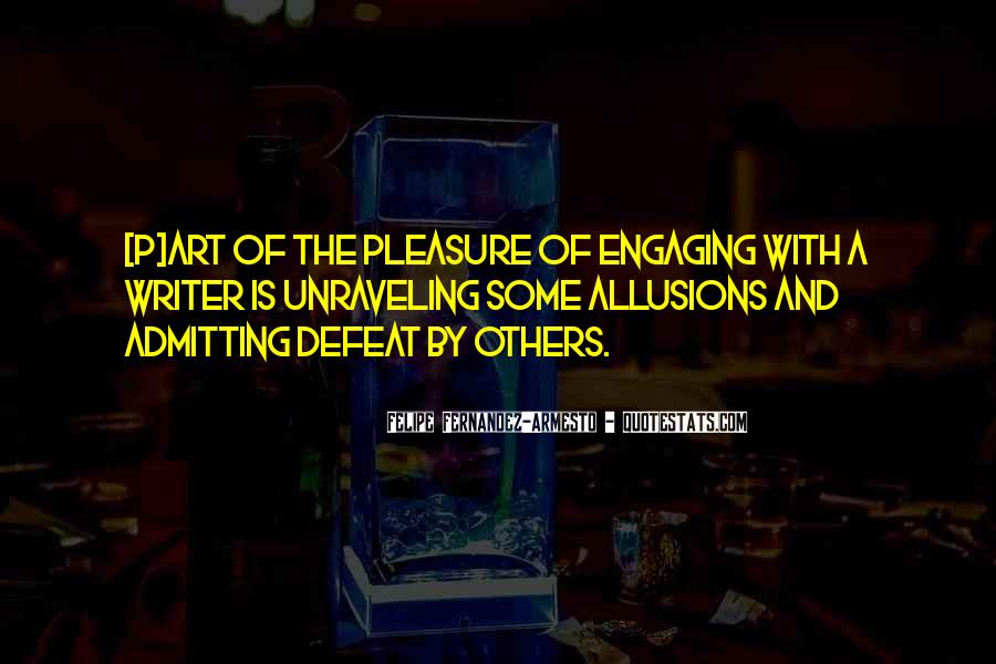 Quotes About Allusions #1358180