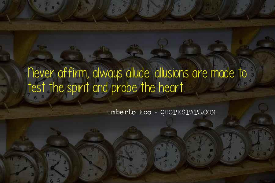 Quotes About Allusions #1559062