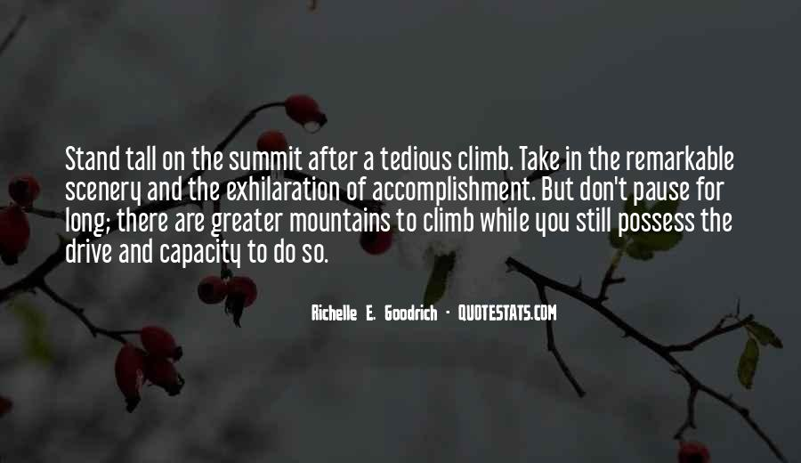 Quotes About Accomplishment And Success #1001834