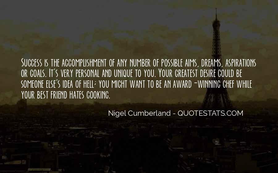 Quotes About Accomplishment And Success #12186