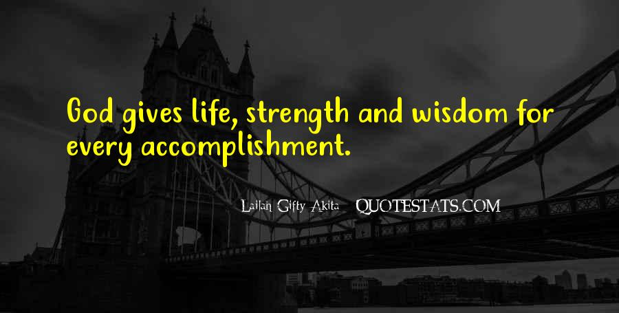 Quotes About Accomplishment And Success #1277009