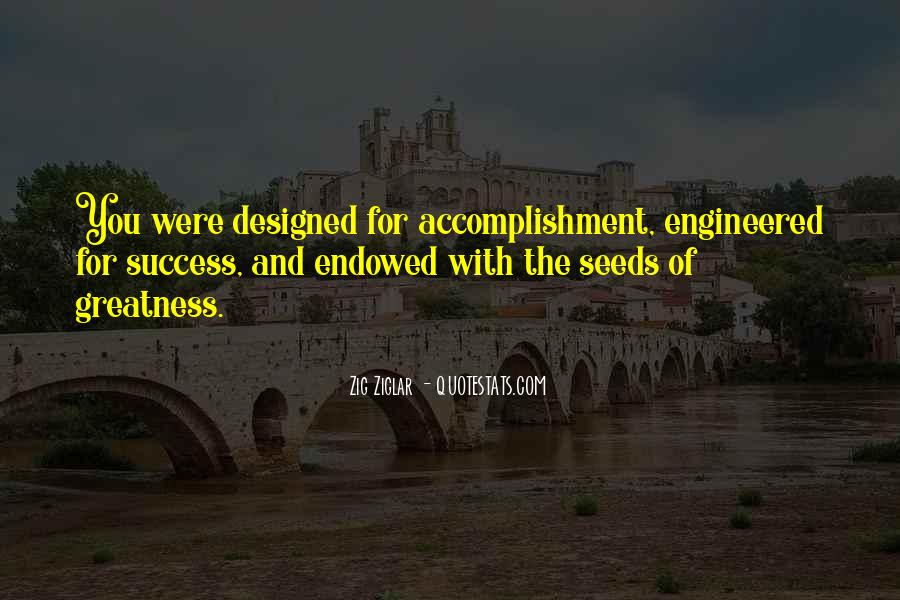 Quotes About Accomplishment And Success #1743447