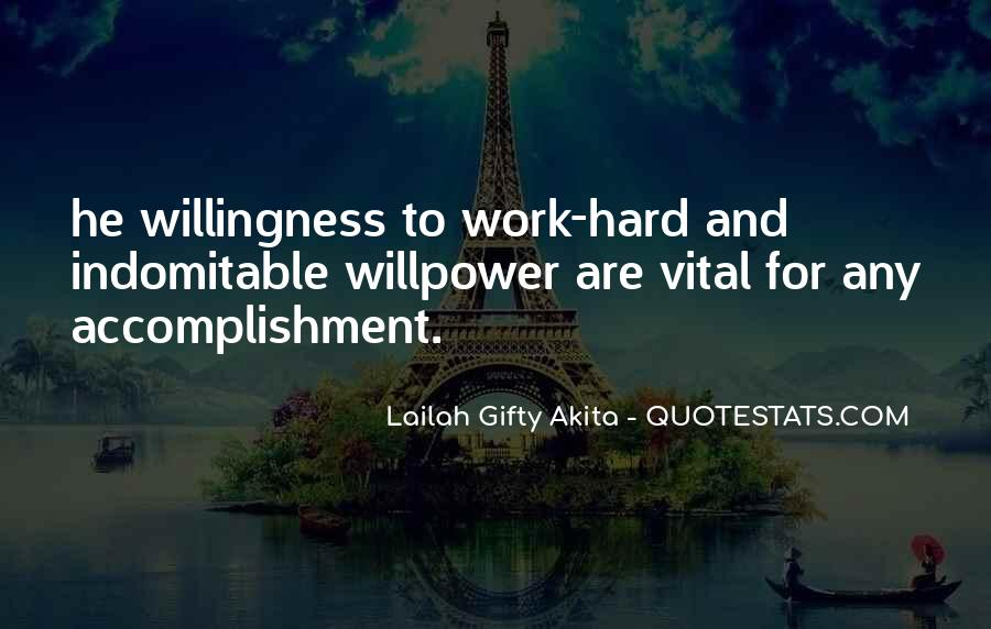 Quotes About Accomplishment And Success #1872186