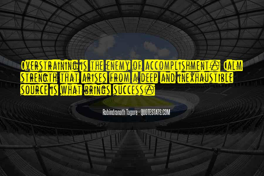 Quotes About Accomplishment And Success #349263