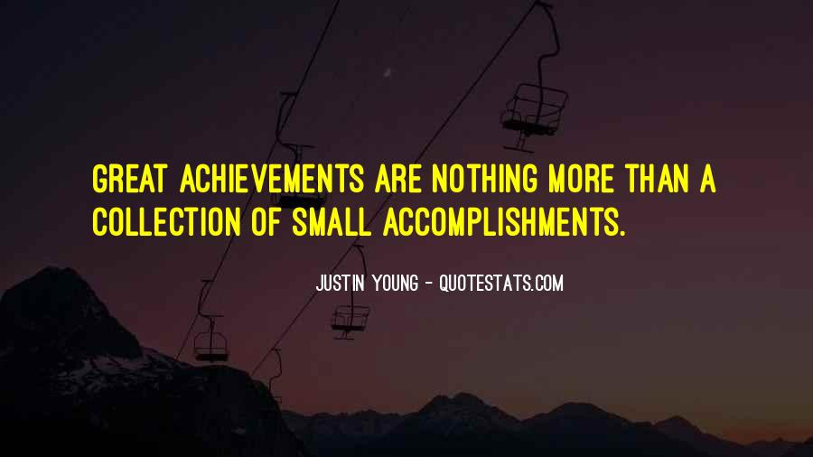 Quotes About Accomplishment And Success #418765