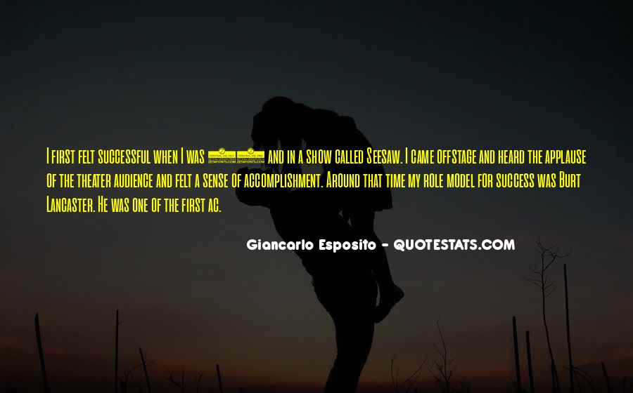Quotes About Accomplishment And Success #451035