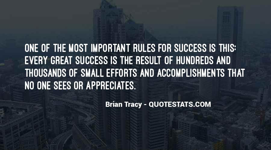Quotes About Accomplishment And Success #645082