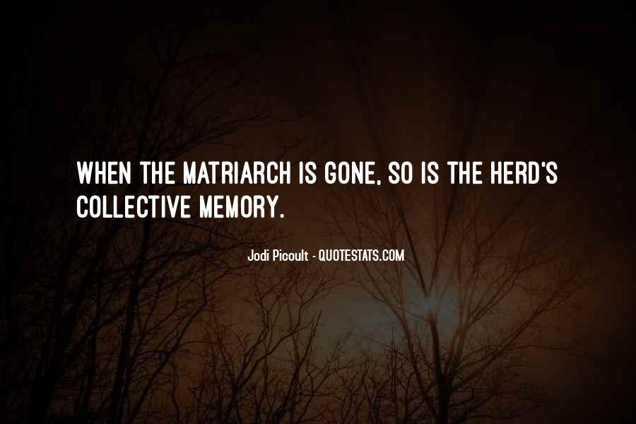 Quotes About Collective Memory #437111
