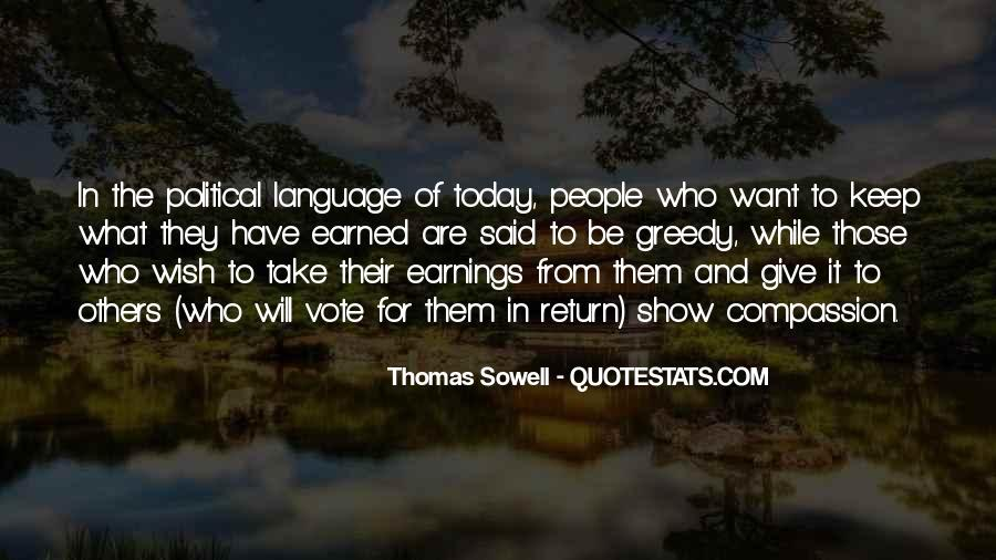Quotes About Greedy #137115