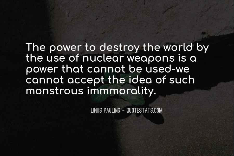 Quotes About Nuclear #40653
