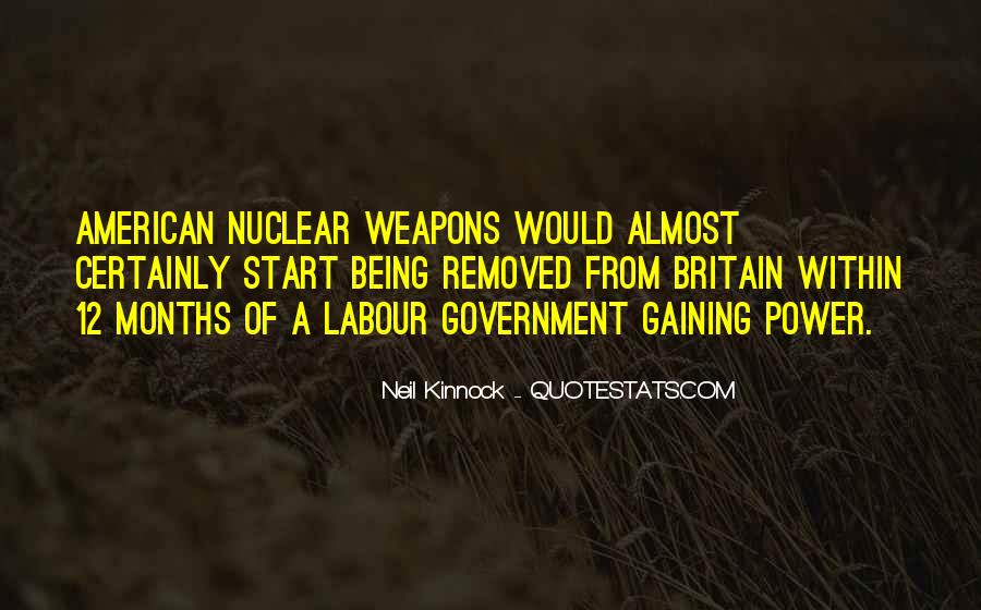 Quotes About Nuclear #44622