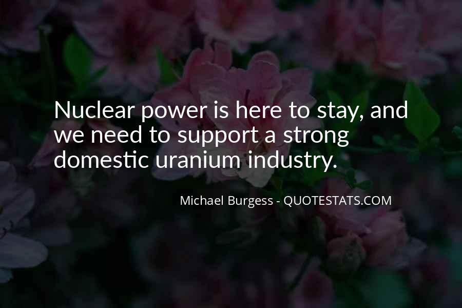 Quotes About Nuclear #63231