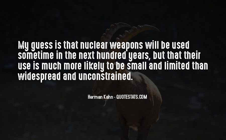 Quotes About Nuclear #66469