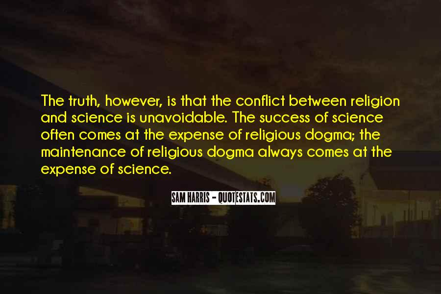 Quotes About Religious Conflict #1214679