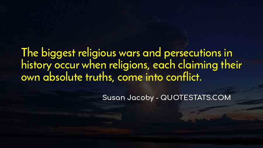 Quotes About Religious Conflict #1433753