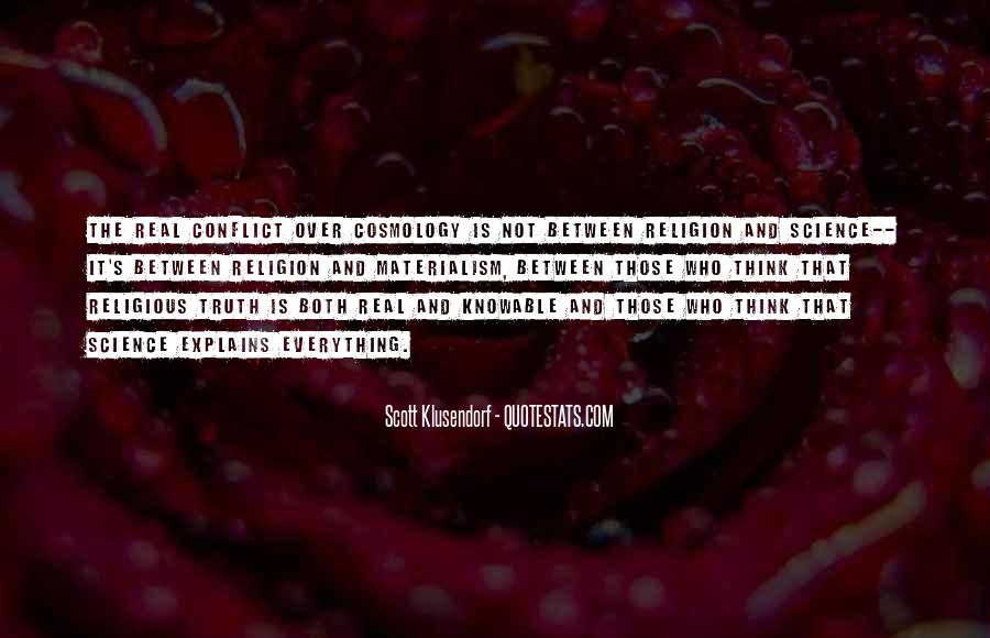 Quotes About Religious Conflict #152660