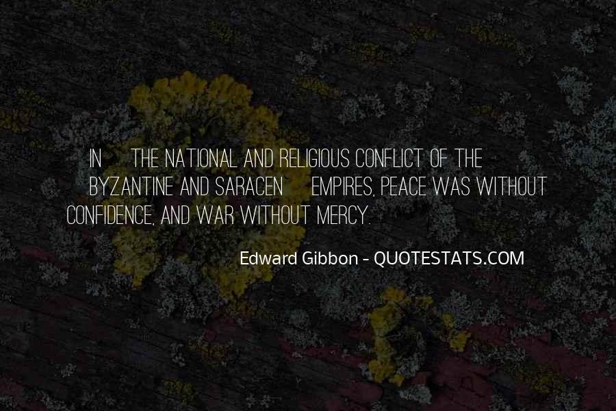 Quotes About Religious Conflict #1759428