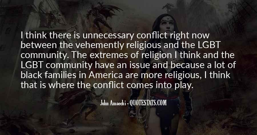 Quotes About Religious Conflict #2840