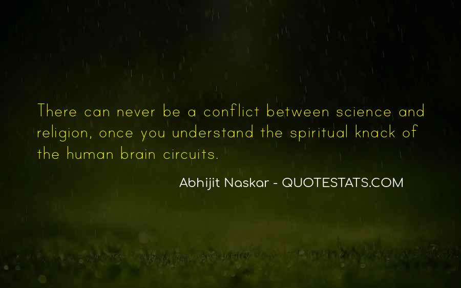 Quotes About Religious Conflict #738673