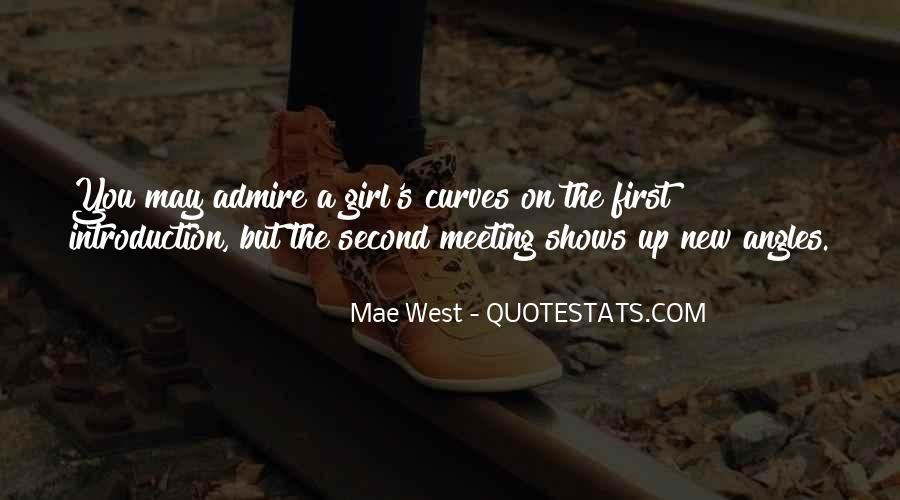 Quotes About Meeting A New Girl #263138