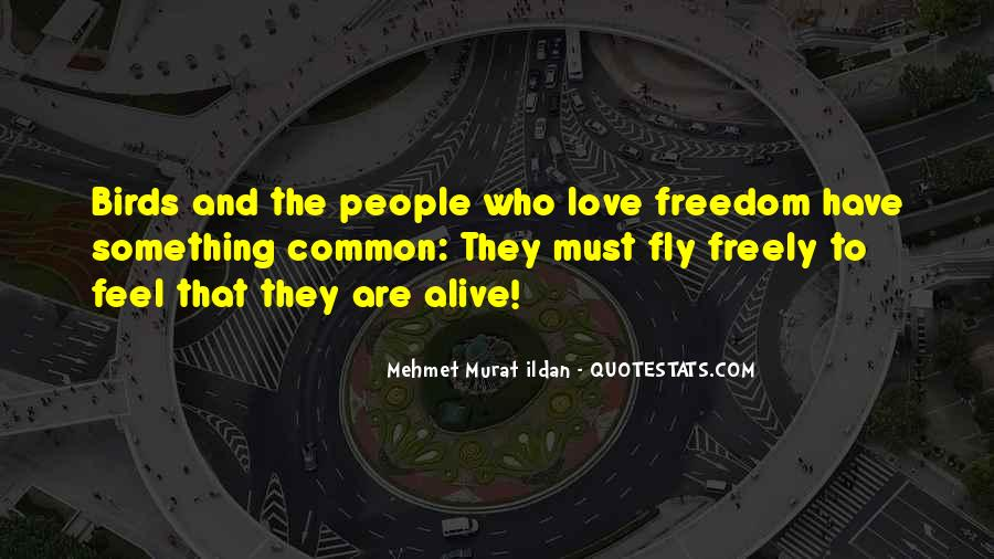 Quotes About Freedom Of Birds #281149