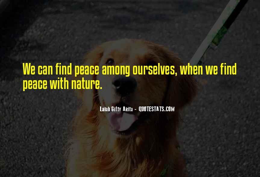 Quotes About Protection Of Nature #10133