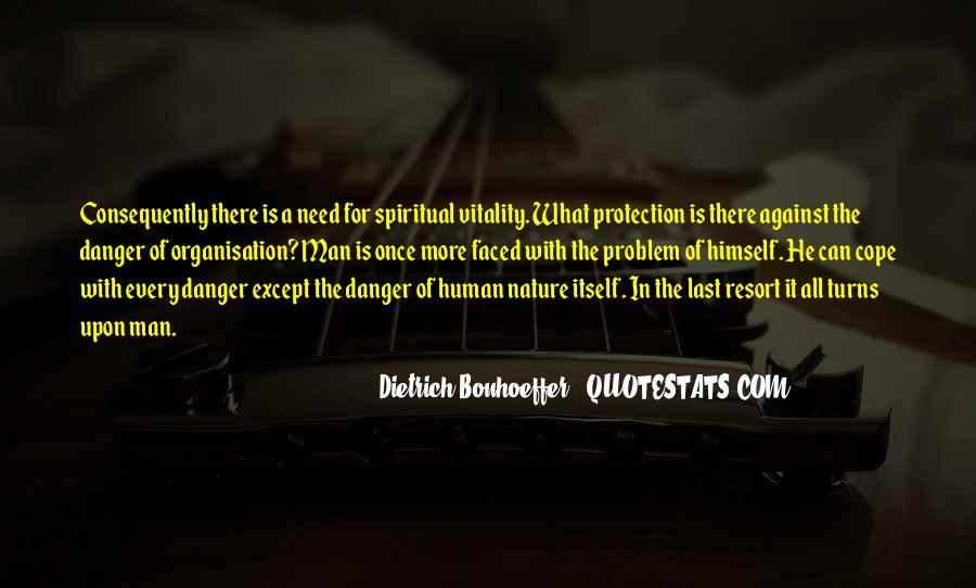 Quotes About Protection Of Nature #1452807